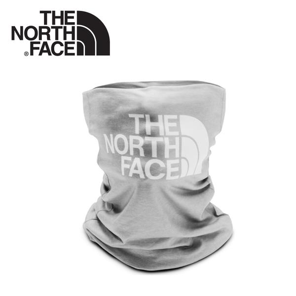【The North Face LOGO排汗頭巾《中灰》】CGV7/魔術頭巾/圍巾/口罩/圍脖/帽子