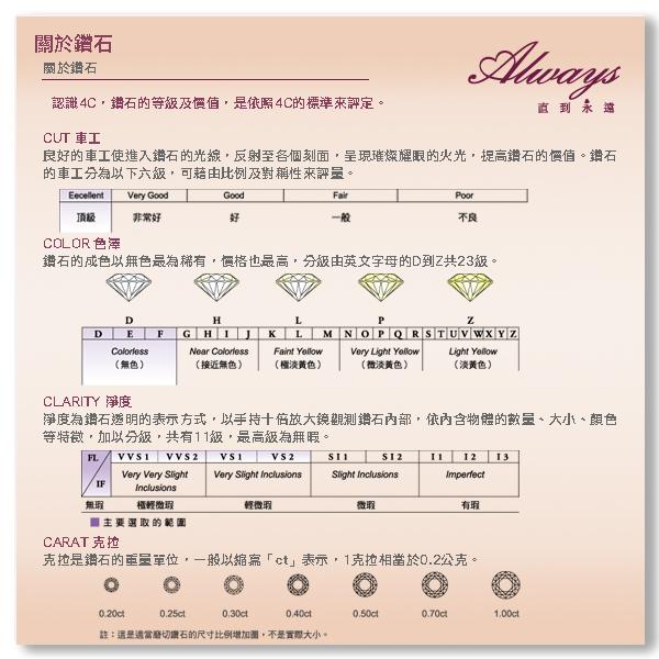 Always 日本18K金擁鑽系列Butterfly 蝴蝶墬鍊