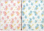 100%純棉 可愛月亮寶寶系列印花布 窄幅110CM 韓國進口布料質感優 2色 口罩