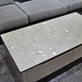 客廳歐式大理石透明餐桌墊厚膠墊桌面