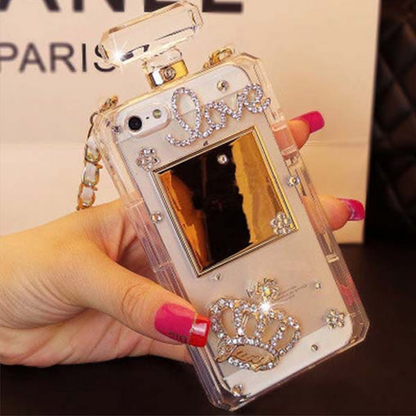 三星 S8 S8 PLUS S7 S7 EDGE Note5 Note8 手機殼 水鑽殼 客製化 訂製 香水瓶 LOVE皇冠