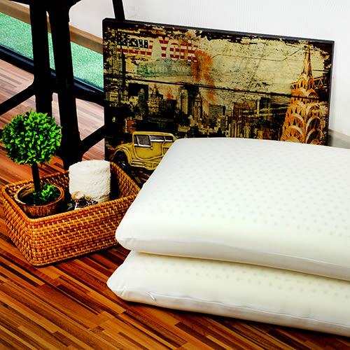 枕頭/乳膠枕 單入 【Moony基本型乳膠枕-29412】100%天然乳膠-彈性良好/軟硬適中-好傢在家居生活館