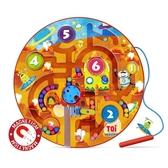 磁性迷宮玩具親子寶寶磁力兒童智力3-6歲男女孩智力運筆走珠