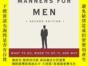 二手書博民逛書店Essential罕見Manners For Men 2nd EditionY255562 Peter Pos
