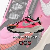 Nike 休閒鞋 Wmns TC 7900 LX 粉 黑 女鞋 厚底 反光 3M 運動鞋 【ACS】 CU7763-600