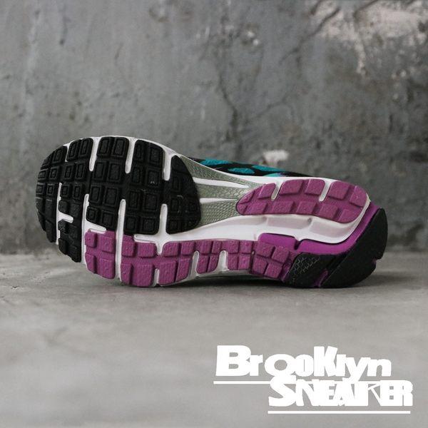 FILA 湖水綠 紫 網布 透氣 休閒鞋 慢跑鞋 女 (布魯克林)  5J307Q309