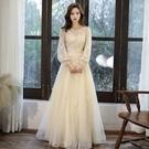 晚禮服裙女2020新款高貴氣質年會主持生日派對學生《蓓娜衣都》