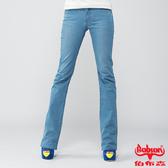 BOBSON 女款高腰膠原蛋白小喇叭褲(8083-58)