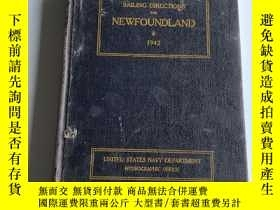 二手書博民逛書店SAILING罕見DIRECTIONS FOR NEWFOUND