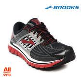 【BROOKS】男款穩定型慢跑鞋 Glycerin 14 2E寬楦  - 鐵灰紅(362E082) 全方位跑步概念館
