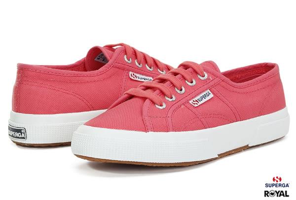 SUPERGA 義大利國民鞋 2750 新竹皇家 莓紅 帆布 百搭 女款 NO.I6364