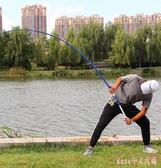 釣魚竿 拋竿遠投甩桿超硬碳素海全套漁具超輕超細海竿套裝 DR19037【Rose中大尺碼】