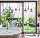 壁貼【橘果設計】吊燈 DIY組合壁貼 牆...