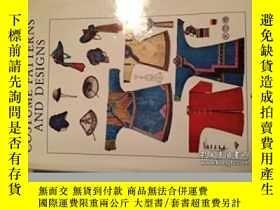 二手書博民逛書店Costume罕見Patterns And Designs-服裝圖案設計Y436638 Max Tilke R