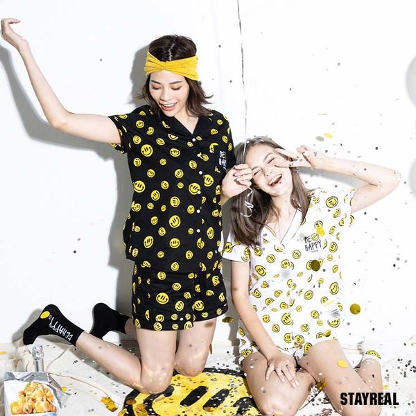 STAYREAL BE HAPPY 睡衣組