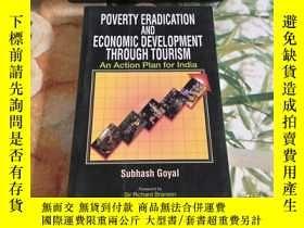 二手書博民逛書店POVERTY罕見ERADICATION AND ECONOMIC DEVELOPMENT THROUGH TOU
