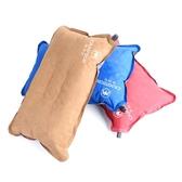 充氣枕 凱瑪仕方形枕頭旅行吹氣枕充氣枕 便攜飛機午休枕頭戶外露營睡眠枕 晶彩生活