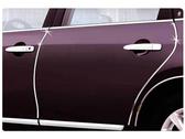 15米【15mm車用裝飾條】DIY汽車用內裝鍍鉻金屬質感裝飾貼條 15m車身縫隙門縫銀色裝飾線貼紙