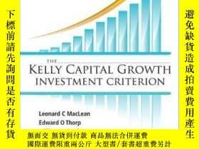 二手書博民逛書店The罕見Kelly Capital Growth Investment CriterionY307751 L