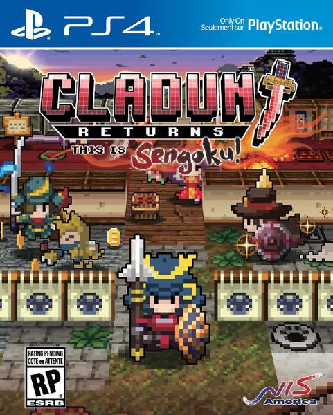 PS4 Cladun Returns: This is Sengoku! 經典迷宮戰國(美版代購)