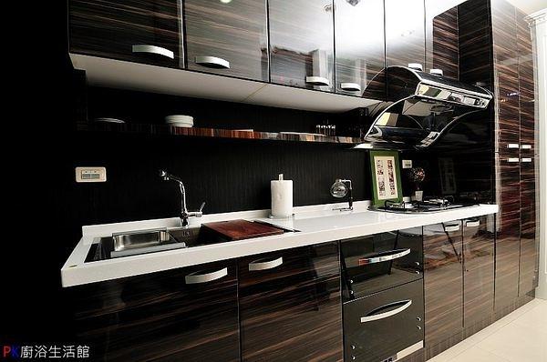 ❤PK廚浴生活館 實體店面❤高雄 廚房歐化系統櫥具 一字型流理台※特價出清中