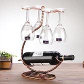 【新年鉅惠】紅酒架擺件歐式創意家用掛杯架紅酒瓶架子客廳酒柜擺件個性