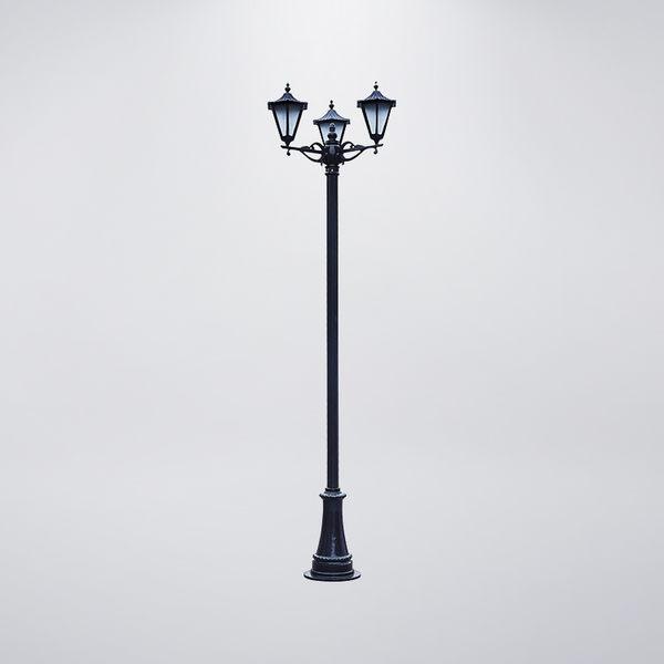 大六角戶外庭園燈 三燈防水型 可客製化 可搭配LED
