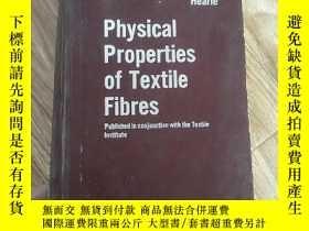 二手書博民逛書店physical罕見properties of textles of tetle fibrs紡織纖維物理性能Y
