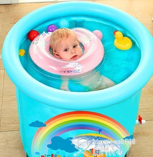 游泳圈 諾澳嬰兒游泳圈脖圈新生幼兒兒童小孩脖子圈寶寶頸圈可調0-12個月 艾維朵