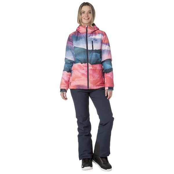 PROTEST 女 機能防水保暖外套 (鬱金香紅) RISTO SNOWJACKET