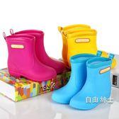 (低價促銷)兒童雨鞋兒童雨鞋中筒防滑寶寶雨靴 男女童春秋小孩水鞋 輕便防滑膠鞋