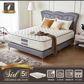 徳泰-席德乳膠蜂巢式獨立筒床墊/ 雙人5尺/H&D東稻家居