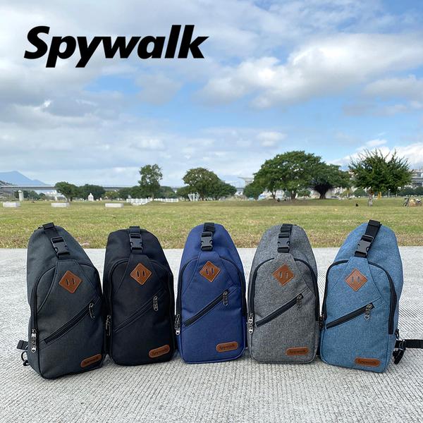 SPYWALK 豬鼻子設計單/雙肩包(磨砂) NO:S9152