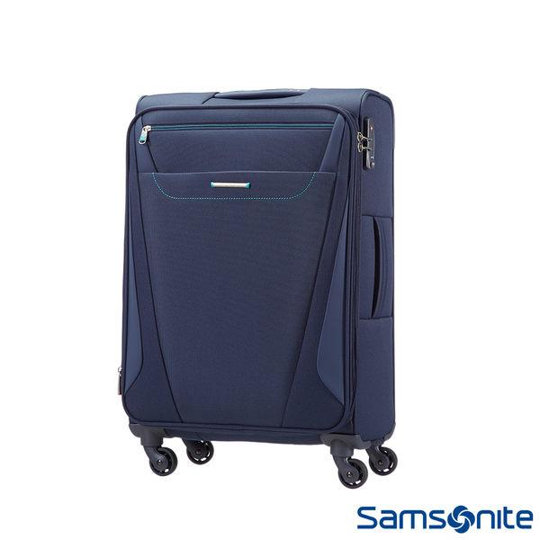 Samsonite新秀麗 28吋 Provo極致輕盈布面可擴充TSA行李箱(海軍藍)