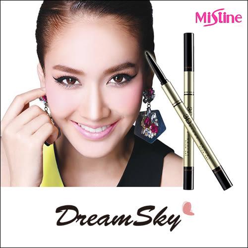 泰國 Mistine 三合一3D眉筆 多用途 多功能 眉筆 眉粉 眉刷 平價 彩妝 美妝 (2.45g/支) DreamSky