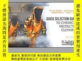 二手書博民逛書店Quick罕見Selection Guide To Chemical Protective Clothing-化學