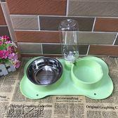 【618好康又一發】防滑防打翻帶吸盤不銹鋼狗碗貓碗寵物寵物用品