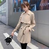 第二件4折 韓國風復古顯瘦氣質風衣外套單品長袖上衣
