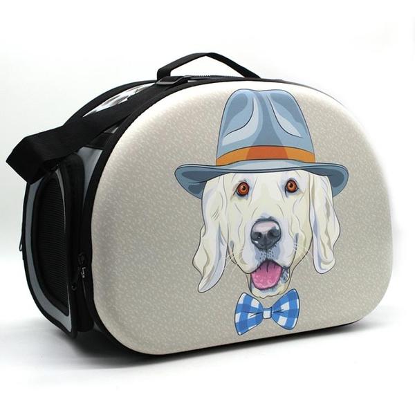 寵物背包 華宇寵物包貓咪背包泰迪外出便攜旅行包 狗包 貓包貓籠袋子 MKS免運