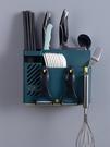 筷子籠置物架家用收納盒壁掛式免打孔廚房刀架放插刀筷勺一體簍