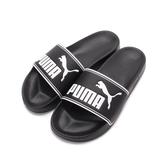 PUMA LEADCAT 套式運動拖鞋 黑白 360263-01 男鞋 鞋全家福