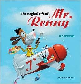 【麥克書店】MAGICAL LIFE OF MR. RENNY /英文繪本《主題:創意.想像.自我認同》
