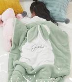兒童毛毯 蓋腿毛絨毯午睡兒童小被子毛毯子辦公室單人冬季雙層加厚保暖【快速出貨八折鉅惠】