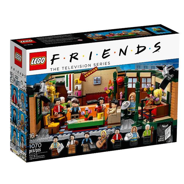 21319【LEGO 樂高積木】IDEAS系列 - 中央公園咖啡館六人行 (1070pcs)
