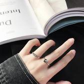 S925純銀日韓簡約做舊復古泰銀螺旋戒指纏繞打結愛心開口戒防過敏 優樂居生活館