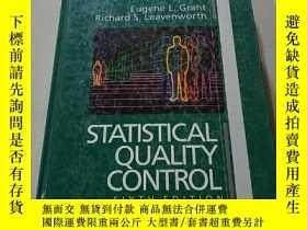 二手書博民逛書店STATISTICAL罕見QUALITY CONTROL:統計質