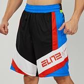 Nike AS Dry Elite Short Block 男款 黑藍橘 菁英 籃球 短褲 BV9382-013