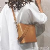 特賣水桶包ins超火包法國小眾包包女包新款潮韓版百搭斜背包時尚水桶包
