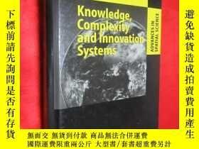 二手書博民逛書店Knowledge,罕見Complexity and Innov