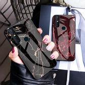 Vivo V15 手機殼 小清新 翡翠 飛鴿 大理石 防刮 全包 軟邊 硬殼 時尚 奢華 保護套 鋼化玻璃殼